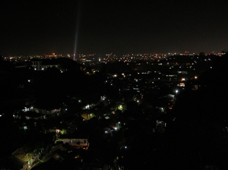 Semarang's View at Night from Rinjani View