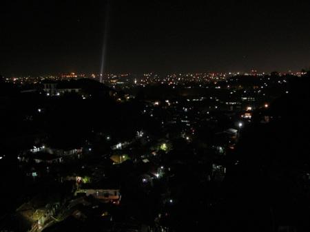 Semarang's View at Night from Rinjani View